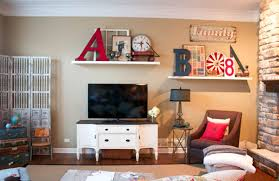 living room wall decoration ideas wall shelves design vintage wall decor ideas for family room