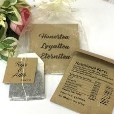 tea bag wedding favors personalized tea bag unique wedding favors door gifts with