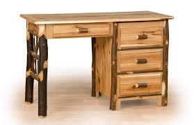 Rustic Office Desk Log Cabin Desk Rustic Office Furniture Lodge Furnishings