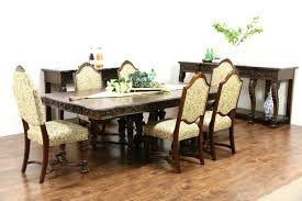 Antique Dining Room Table by Sold Renaissance Carved 1920 U0027s Walnut Antique Dining Table 4
