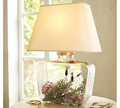 Barn Lamps Fillable Glass Table Lamp Pottery Barn Best Inspiration For