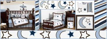 Moon Crib Bedding Starry Celestial Baby And Bedding