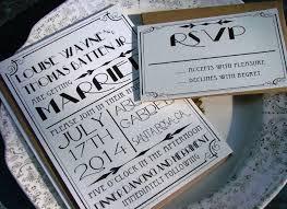 deco wedding invitations great gatsby wedding invitation set 1920s wedding invitation
