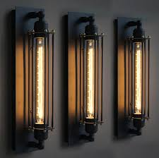 Sconce With Outlet Black Iron Wall Lights With Outlet 1 Light Grass Cover Bronze