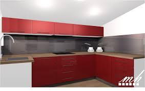 organisation du travail en cuisine cuisine mur galerie avec plan de travail photo