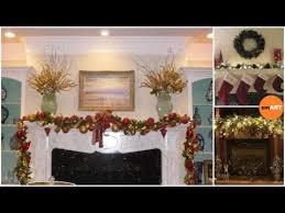 christmas mantel décor gorgeous holiday mantel decorating ideas