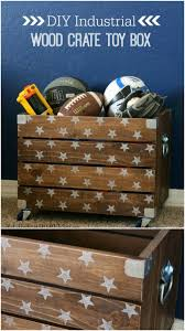 Easy To Make Toy Box by Amazing And Wonderful Wooden Crate Craft Ideas You Should Try