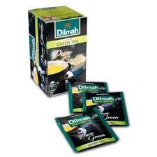 Teh Dilmah dilmah green tea green foil envelope tbag 20 sachet foil