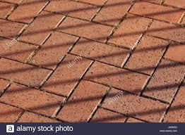 Brick Patio Design Patterns by Red Brick Paving Floor Texture Herringbone Design Pattern With