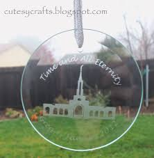 glass etched ornament cutesy crafts