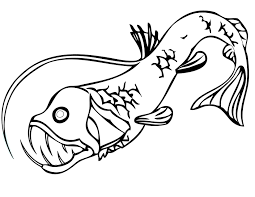 angler fish coloring page getcoloringpages com