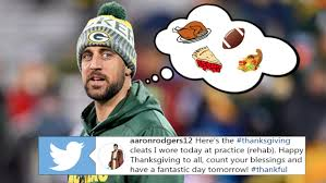 aaron rodgers wore the most stylish thanksgiving themed cleats