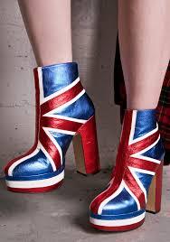 British Flag Boots Shellys London Union Jack Boots Dolls Kill