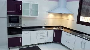 bar a cuisine cuisine moderne blanc aubergine avec mini bar tlemcen cuisine
