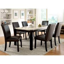 Beautiful Marble Dining Room Tables And Chairs Contemporary Room - Countertop dining room sets