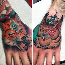mens hand tattoos traditional tattoo collections