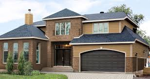 Home Exterior Design Uk Exterior Design Genstone Panels With Double Windows For Home