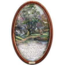 bradford exchange home decor amazon com thomas kinkade religious collector plate walk of