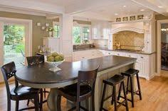 kitchen island instead of table neat idea on the island and the mill work is beautifuly like
