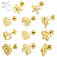 earrings for babies buy earrings baby and get free shipping on aliexpress