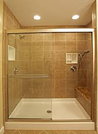 Wood Shower Door by Bathroom Gorgeous Small White Small Bathroom With Shower Stall