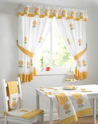 Checkered Kitchen Curtains Kitchen Beautiful Kitchen Curtains And Yellow Ideas Bay