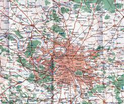 Array Map Historical Map U201cblue Guides Short Guide To Paris U201d Transit Maps