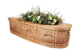 wicker casket caskets coffins the funeral company