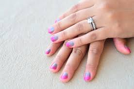 clumsy chic how to easy nail art