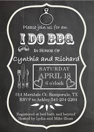 engagement party invitation wording chalkboard i do bbq engagement party invitation pictures