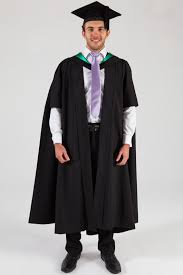 master s cap and gown of melbourne masters graduation gown set education