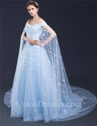 blue wedding dresses fantastic gown the shoulder light blue tulle floral