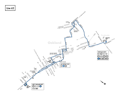 Bart Route Map by 62 Bus Route Ac Transit Sf Bay Transit