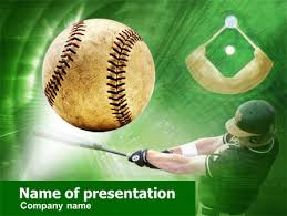 baseball themed powerpoint template gavea info
