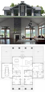 Best 25 One Floor House House Plan Best 25 Small House Plans Ideas On Pinterest Small