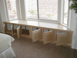 Kitchen Table With Storage Cabinets by Bay Window Design Creativity Window Storage And Window Seat Storage