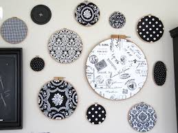 Sewing Room Wall Decor Sew Many Ways Fabric Hoops Wall Decor