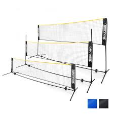 amazon com goplus portable badminton net beach volleyball tennis
