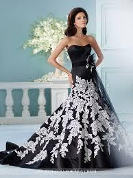 black wedding dresses davids bridal black satin halter david s