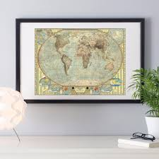 World Map Canvas Art by Online Get Cheap World Map Framed Aliexpress Com Alibaba Group