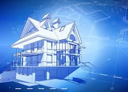 Home Design Vector Free Download House Building Blueprint Design Vector 09 Vector Architecture