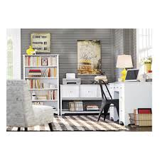 Shallow White Bookcase by White Bookcases Home Office Furniture The Home Depot