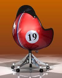 fauteuil de bureau original fauteuil bol concept l univers du sport auto ou moto dans un