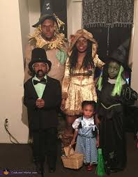 Wizard Oz Halloween Costumes Adults 16 Clever Family Halloween Costume Ideas 2017