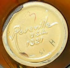 Roseville Pinecone Vase Roseville Pine Cone Pottery Marks