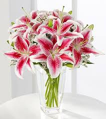 bouquet of lilies the ftd pink bouquet