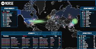 Real Time Maps Norse Providing Real Time Hack Monitoring Map Eteknix