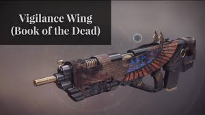 vigilance wing book of the dead ornament a platinum review
