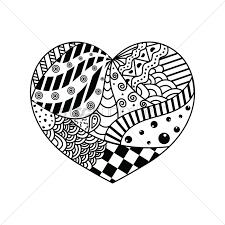 decorative heart design vector image 1544103 stockunlimited