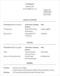 Dancer Resume Template Topshoppingnetwork Com Wp Content Uploads 2017 11